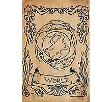 Mermaid Tarot: The World Photographic Print