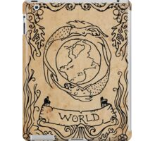 Mermaid Tarot: The World iPad Case/Skin
