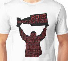 Chicago Blackhawks - 2015 Stanley Cup Champions Unisex T-Shirt
