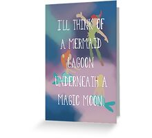 Mermaid Lagoon Greeting Card