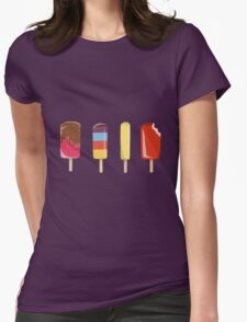 Little Ice Lollies Womens Fitted T-Shirt