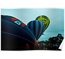 Inflating, inflated and away we go!!! Poster