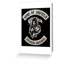 Sons of Anfield - Redmen Original Greeting Card