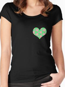 R12 Women's Fitted Scoop T-Shirt