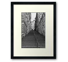 Warriston Close Framed Print