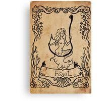 Mermaid Tarot: The Fool Canvas Print