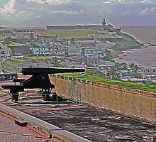 Cannon at San Cristobal Fort by Turtle6
