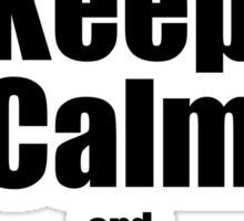RC-Keep Calm Hover Sticker