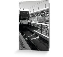 Watching for Trains  Greeting Card