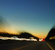 Heading East on I20, GA  by Hannah  Weld