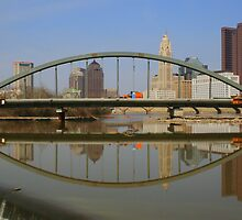 New Main Street Bridge Reflected by Laurel Talabere
