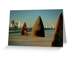 Geelong Water Front Greeting Card