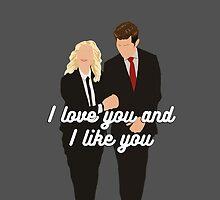 I Love You and I Like You by lindsaygreth