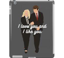 I Love You and I Like You iPad Case/Skin