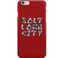 SLC GEOMETRY iPhone Case/Skin