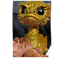 Golden Smaug Funko Pop  Poster