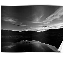 The Mouterres lake Poster