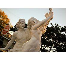 Grecian Statue - Sarasota, Florida Photographic Print