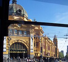 Rush Hour, Flinders Street, Melbourne. by carmelr