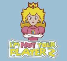 Princess Peach I'm Not Your Player 2 by feministshirts