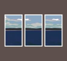 Ocean View - Triptych Kids Clothes