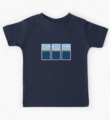 Ocean View - Triptych Kids Tee