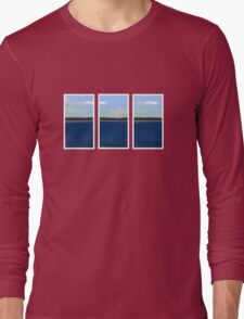Ocean View - Triptych Long Sleeve T-Shirt