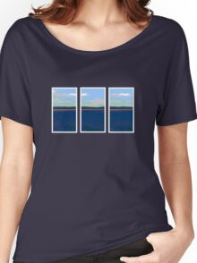 Ocean View - Triptych Women's Relaxed Fit T-Shirt