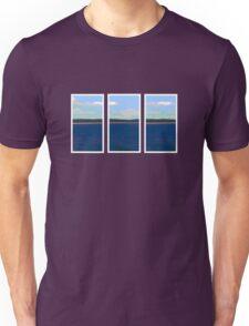 Ocean View - Triptych Unisex T-Shirt
