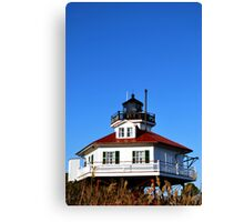 Drum Point Light House Canvas Print