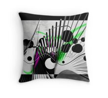 Architecturally spun Throw Pillow