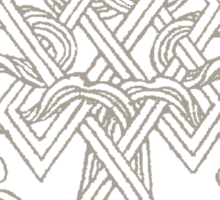 Endless Knot Symbol Sticker
