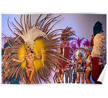 Carnival Dancer - Argentina Poster