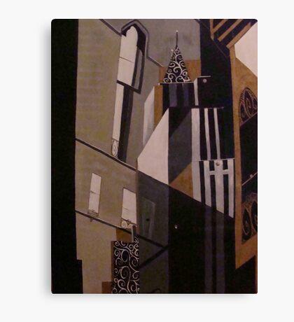 """city life"" Canvas Print"