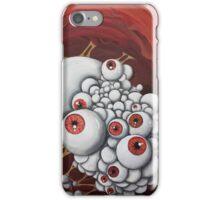 Eyes Vertically iPhone Case/Skin
