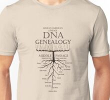 African American Lineage Unisex T-Shirt