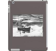Little Boat Black & White iPad Case/Skin