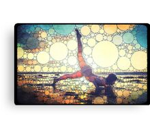 Yoga art 8 Canvas Print