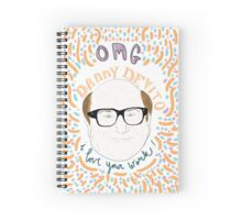 Mean Girls - Danny Devito Spiral Notebook