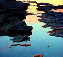 Beauty Effulgent - Aldinga Beach Shoreline by Killashandria