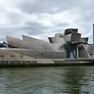 Guggenheim, Bilbao, Spain. by Trish Meyer