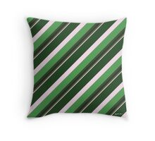 Pink Roses in Anzures 1 Stripes 5D Throw Pillow