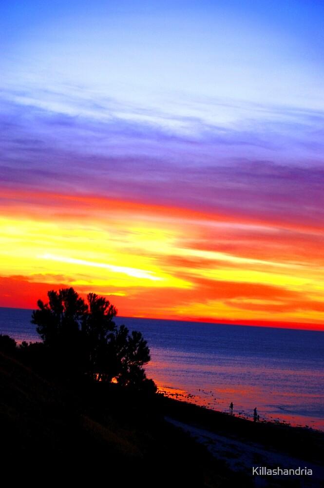 A Painted Sunset - Aldinga Beach by Killashandria