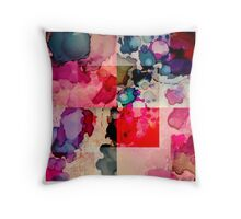 Festive Inks Throw Pillow