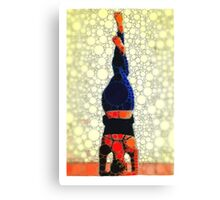 Yoga art 1 Canvas Print