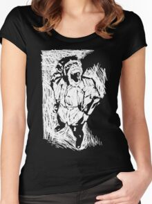 Chimp Thug Women's Fitted Scoop T-Shirt