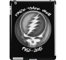 "Grateful Dead ""Fare Thee Well"" 50th Anniversary Steal Your Face GD50 iPad Case/Skin"