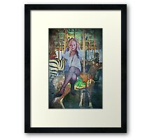 Stop the Ride Framed Print