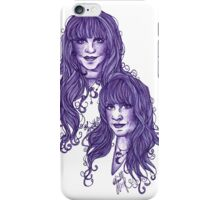 Stevie Smiles: Violet iPhone Case/Skin