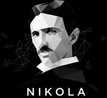 Nikola Tesla by department